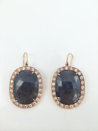 Rose Gold, Sapphire & Diamonds