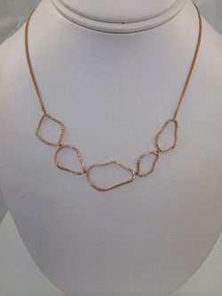 Diamond Pebble Necklace