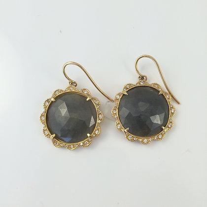 Saphire, Diamonds & Yellow Gold