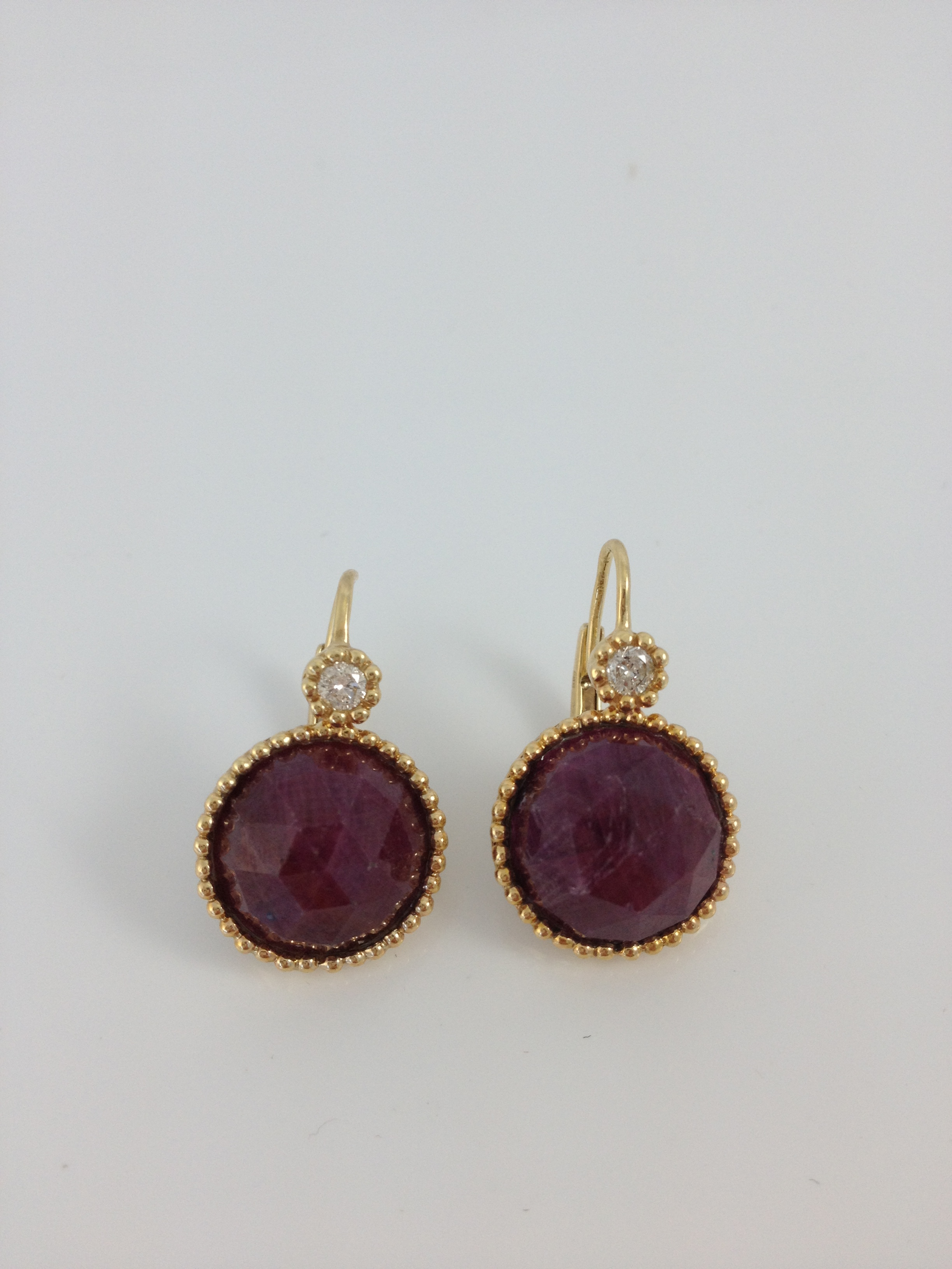 Bhurmese Ruby with Diamonds