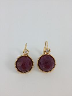 Bhurmese Ruby with Diamonds