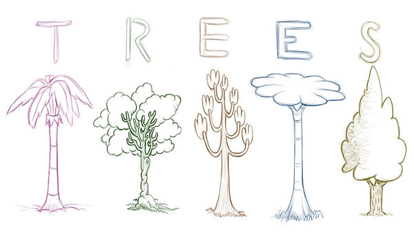 trees props