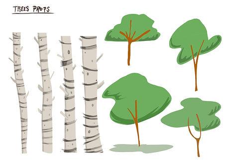 trees props 2