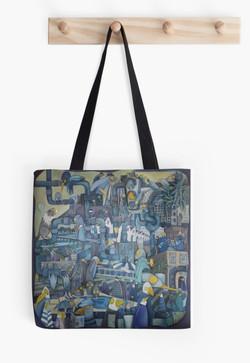 'Pipes' Tote Bag