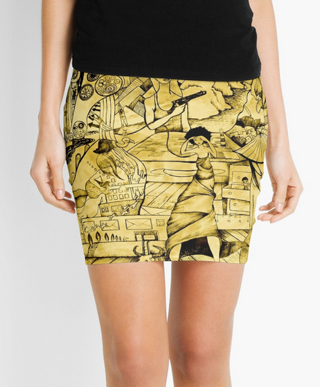 Wrap me in Time Skirt