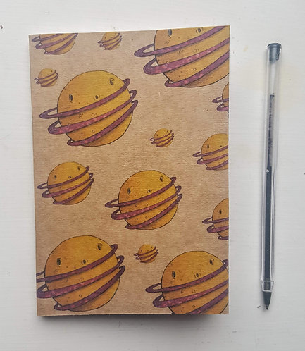 Planets A6 Notebook