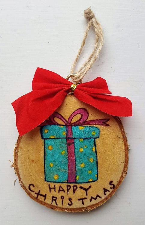 Gift  - Wooden Art Decoration
