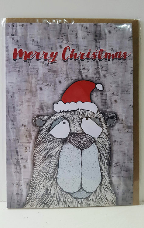 OTO Merry Christmas - A6 Greeting Card