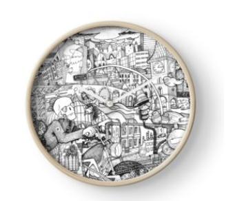 Clocks and Home Decor
