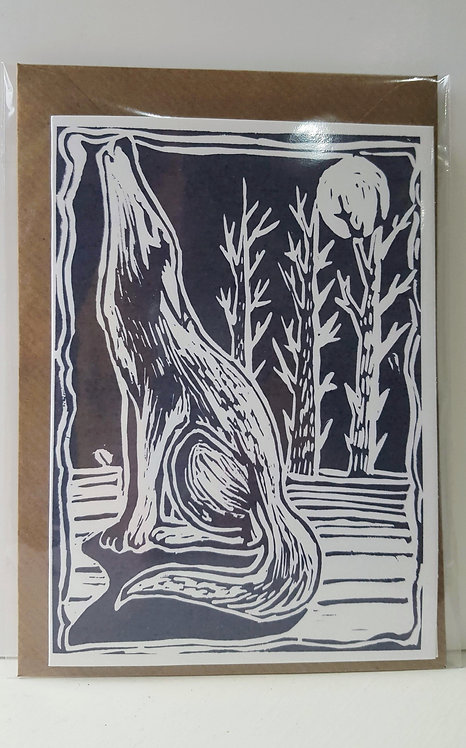Howlin' Wolf - A6 Greeting Card