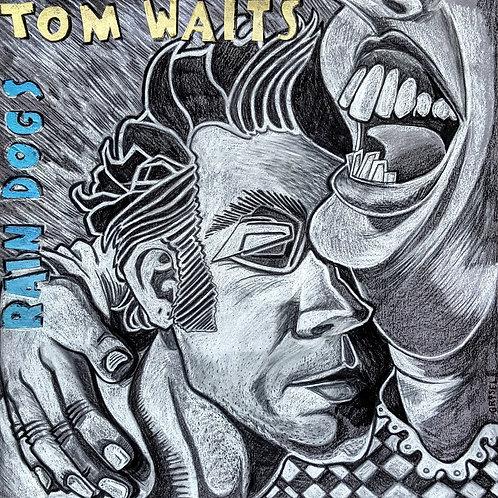 Tom Waits  - Rain Dogs ( vinyl cover size)