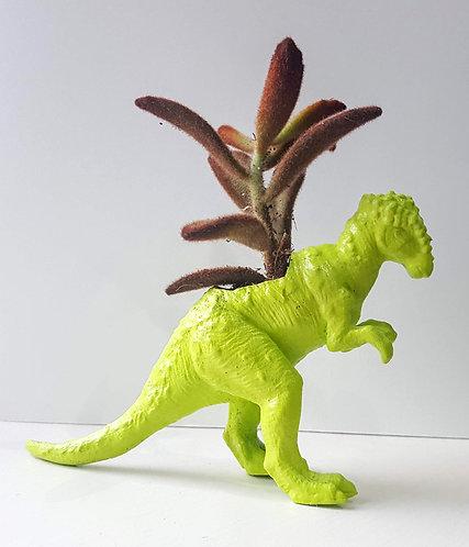 Green Dino Planter