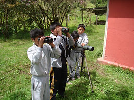 out dore education bird watching