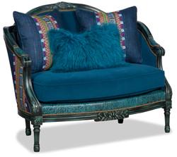 Paul Robert Blue chair