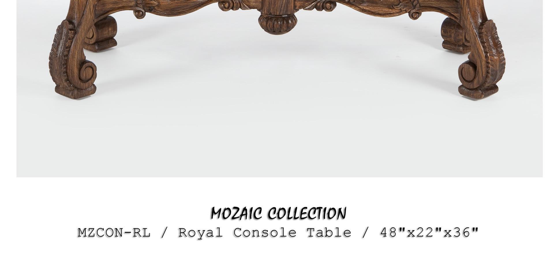 Jason Scott Royal Console Table