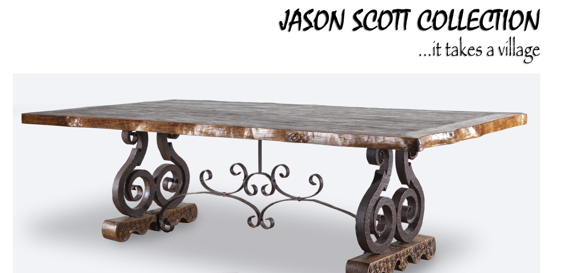 Jason Scott Living Edge Dining Table