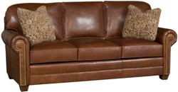 Southwestern Leather Sofa