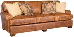 Tuscan Leather Sofa