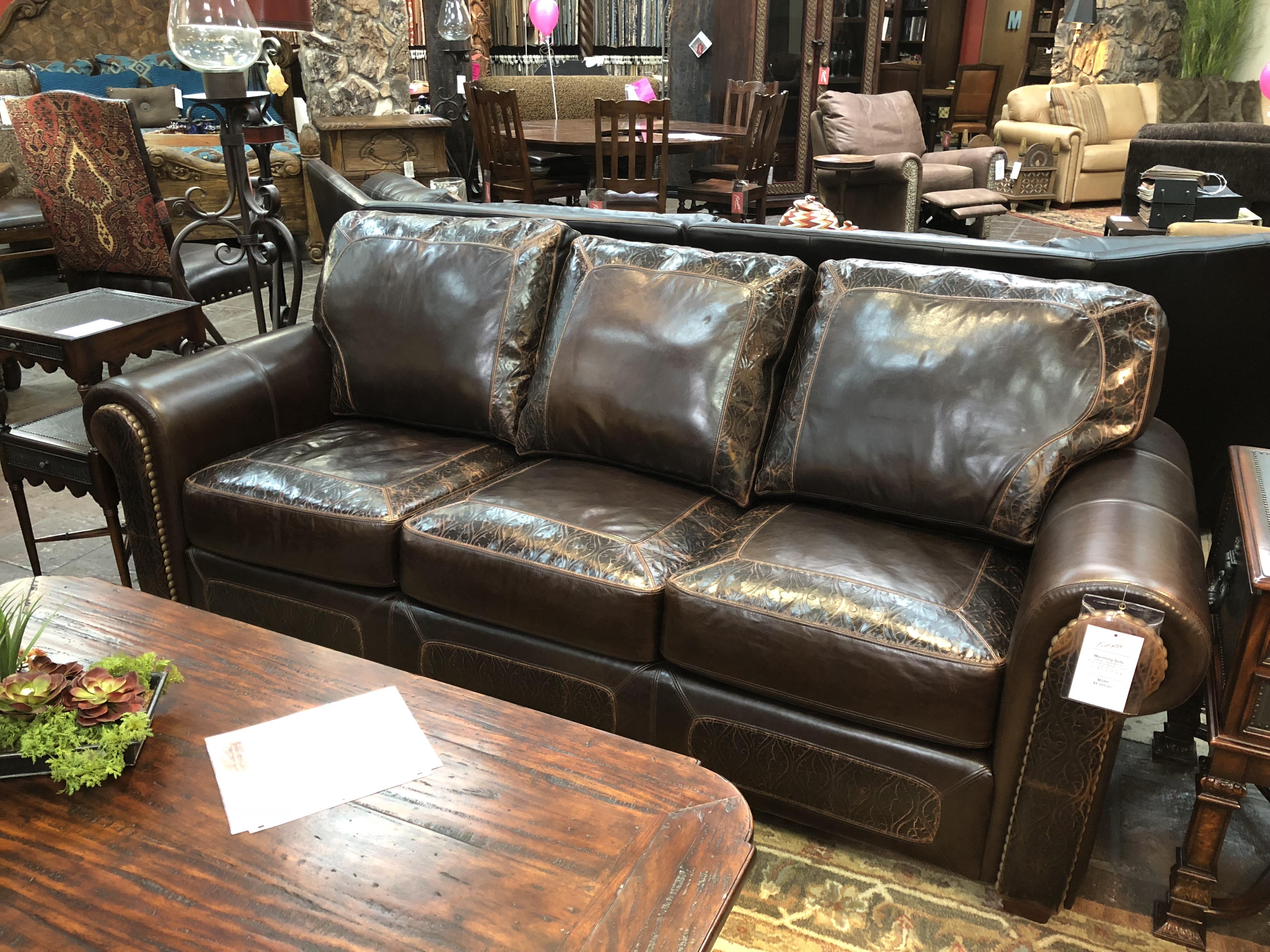 Custom Southwestern Sofa
