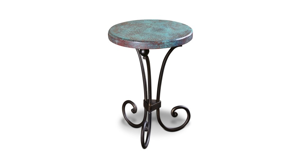 Southwest Turquoise End Table