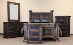 Reclaimed Wood Finca Bed