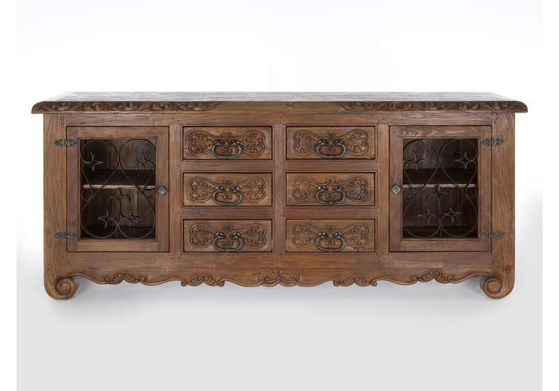 Jason Scott Lovina Buffet Large with Iron Doors