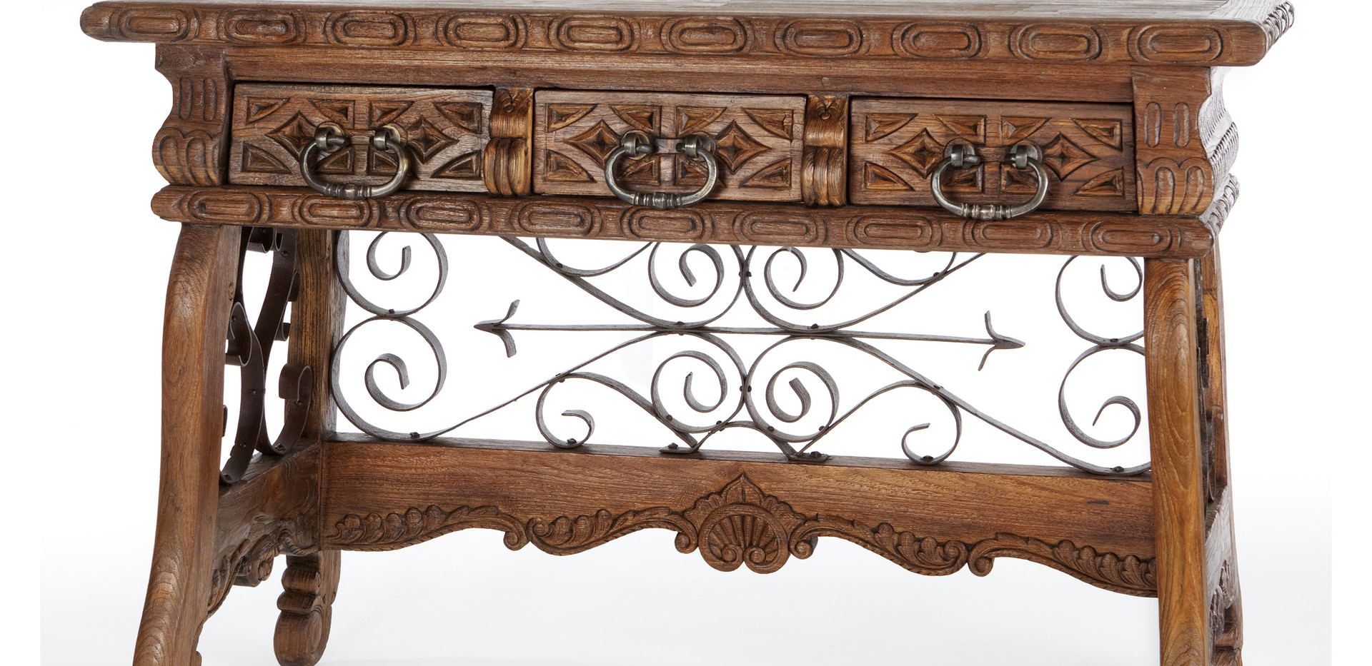 Jason Scott Spanish Prison Console Table