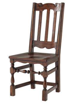 Theodore Alexander Antique Dining Chair.