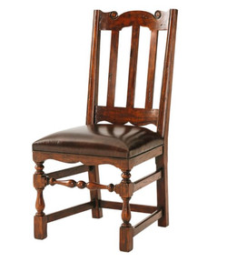 Theodore Alexander Country Dining Chair.