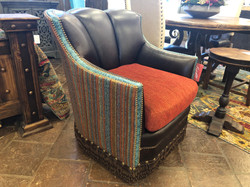 King Hickory Swivel-Glider Chair