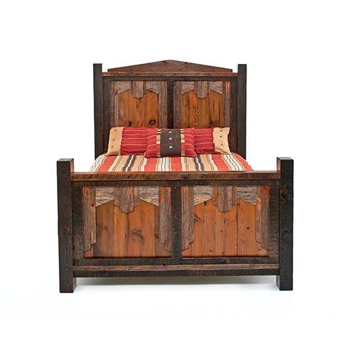 Reclaimed Barn Wood Bed