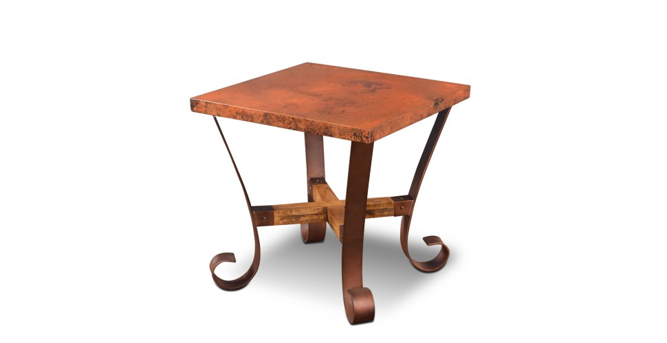 Southwest Copper End Table