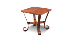 Southwest Copper End Table