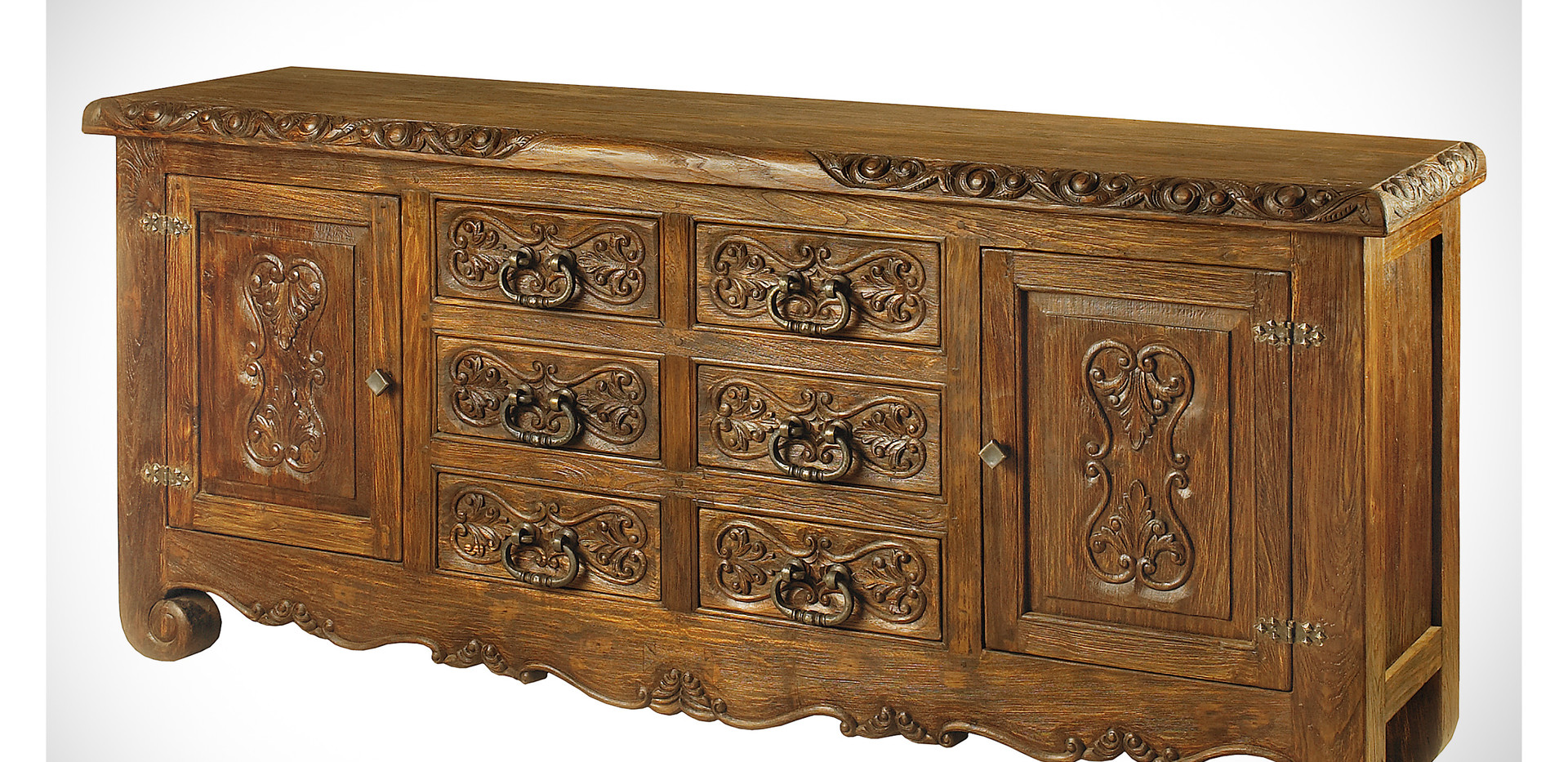 Jason Scott Lovina Buffet Large with Wood Doors