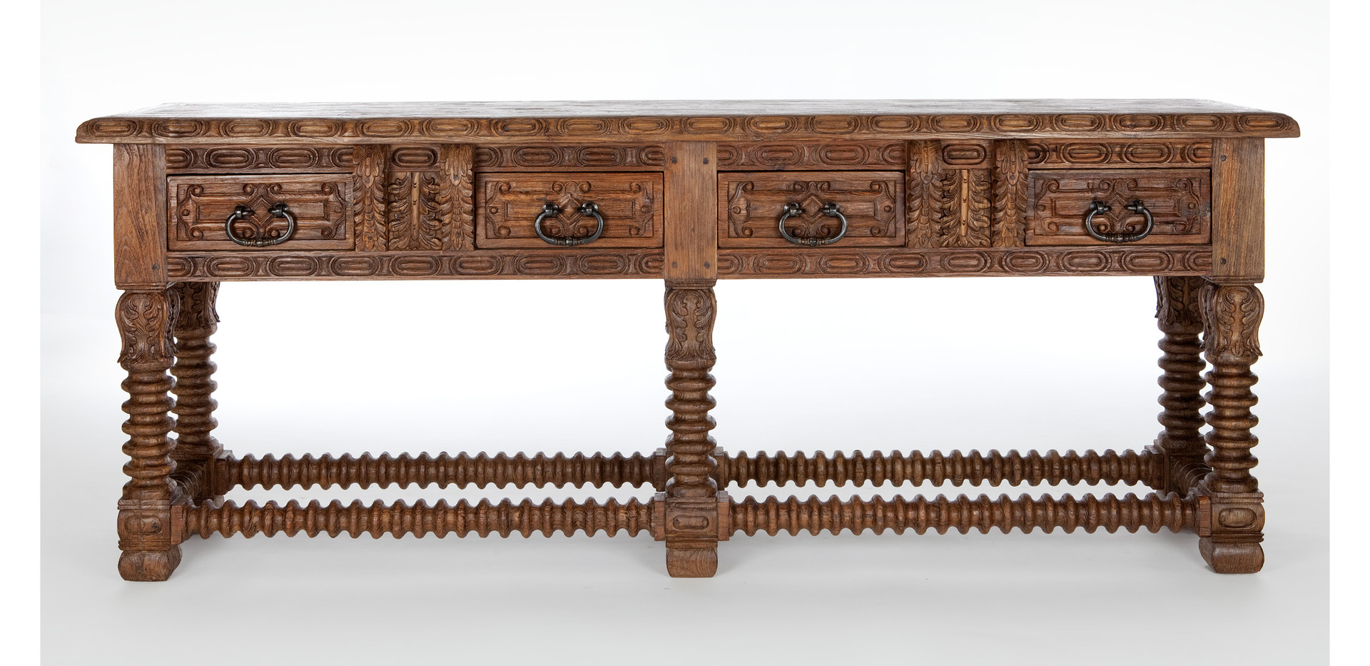Jason Scott Spanish Carpenters Table - 6 Legs