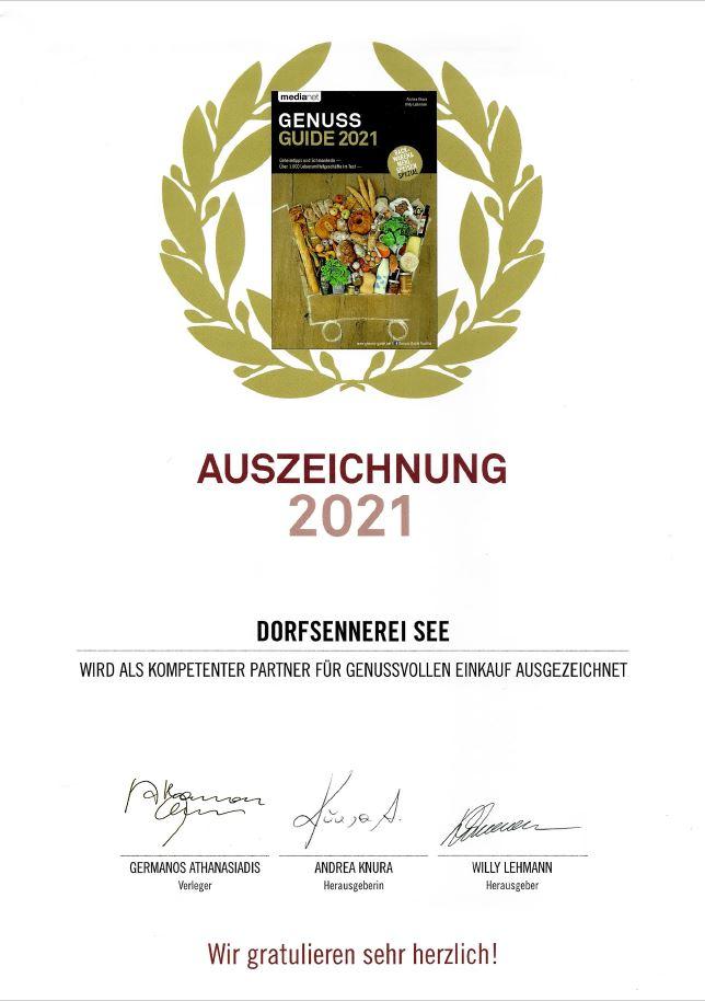 Auszeichnung Knoll