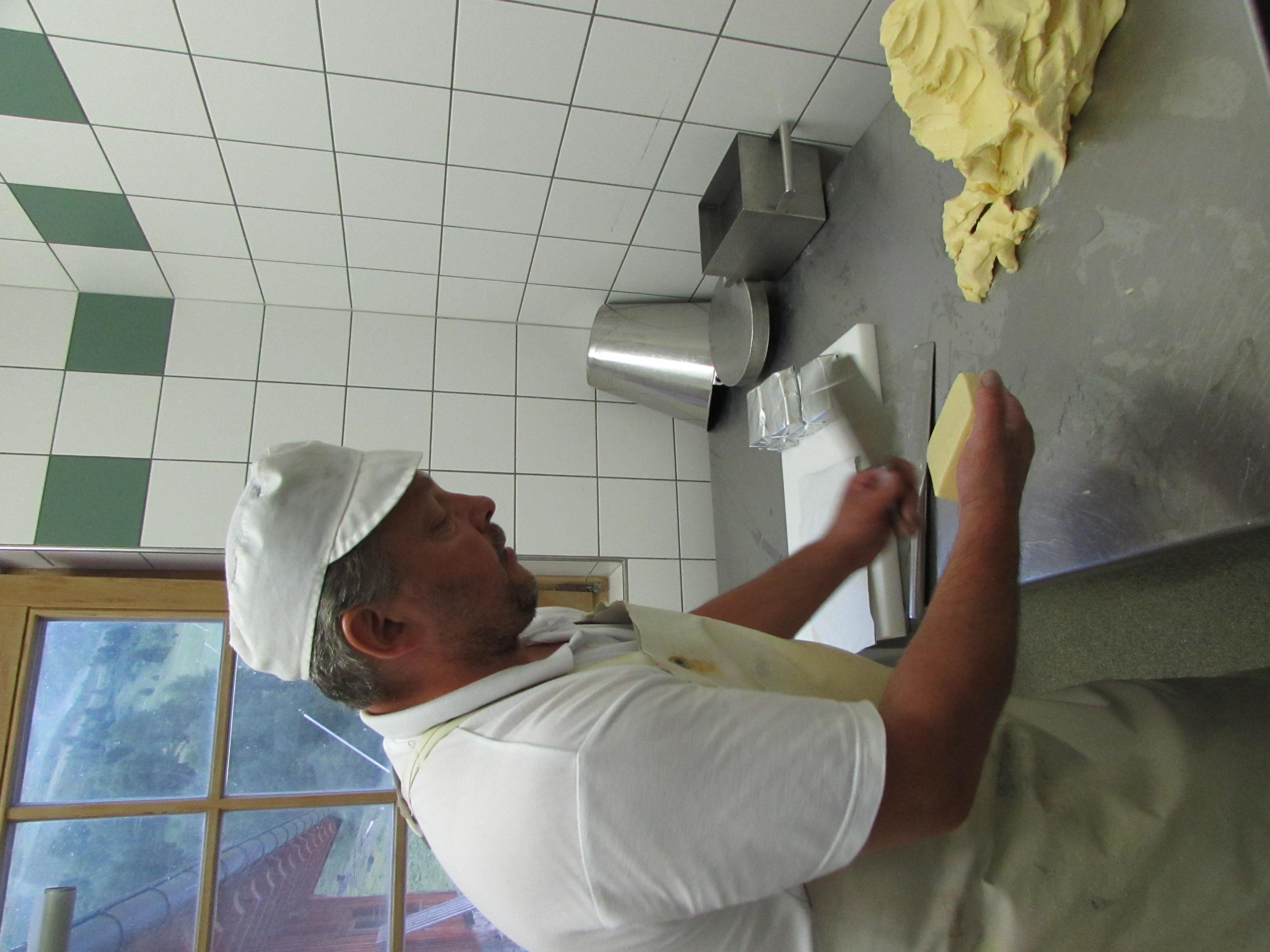 Tägliche Frische Butter im Paznaun