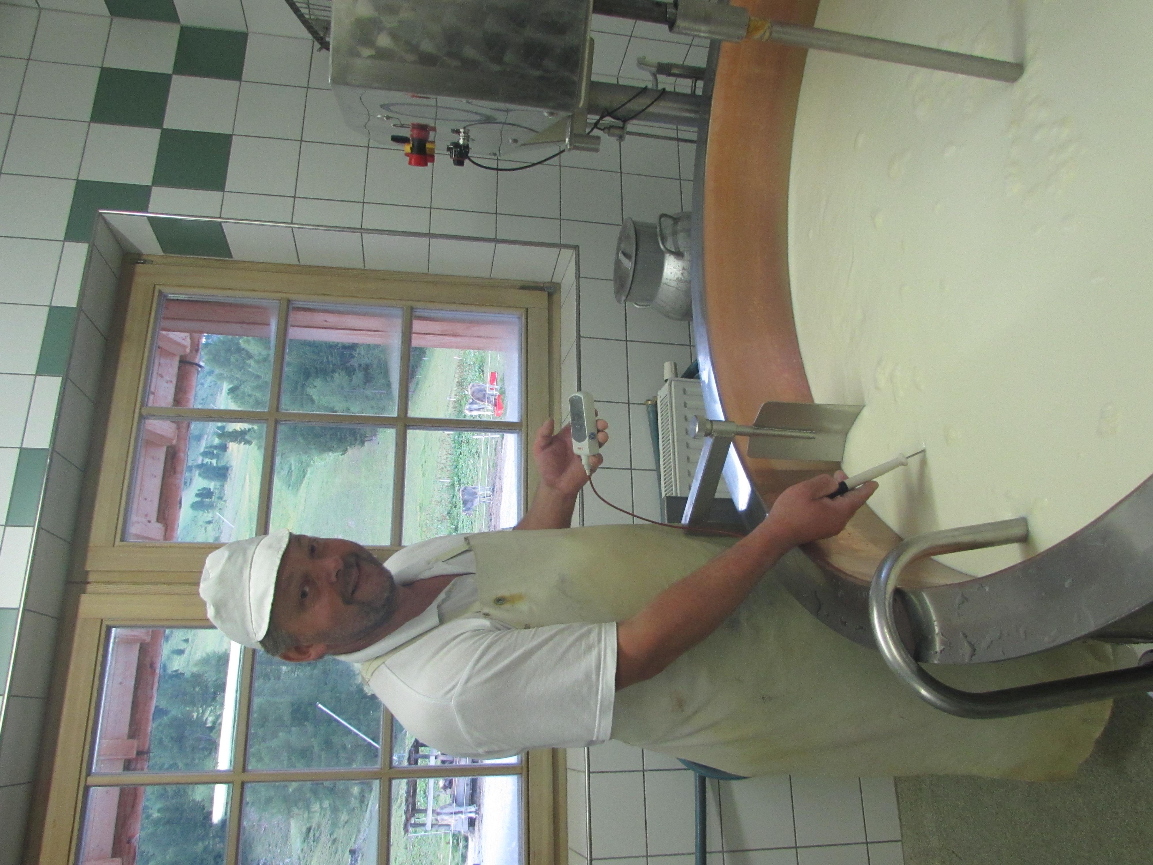 Käser aus Leidenschaft- Knoll Markus