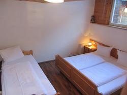 Appartemen Silvretta - Schlafzimmer