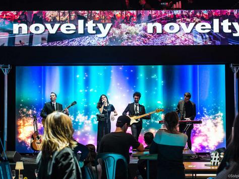Notre orchestre Your Dream Band haut de gamme et sur-mesure au salon de l'événementiel pour animer l