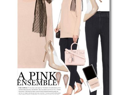 A Pink Ensemble