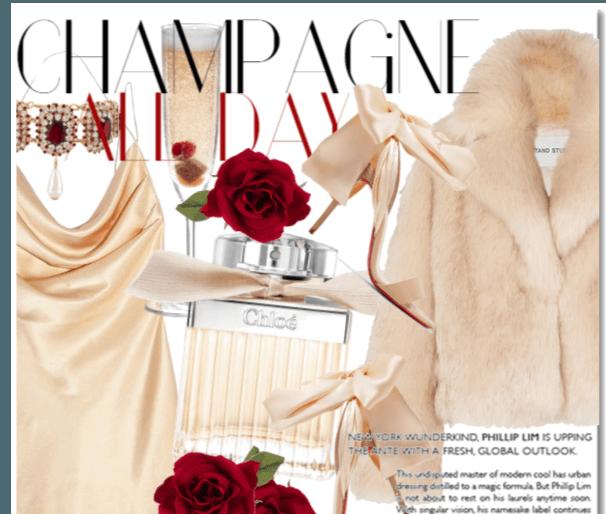 Champagne & Rose