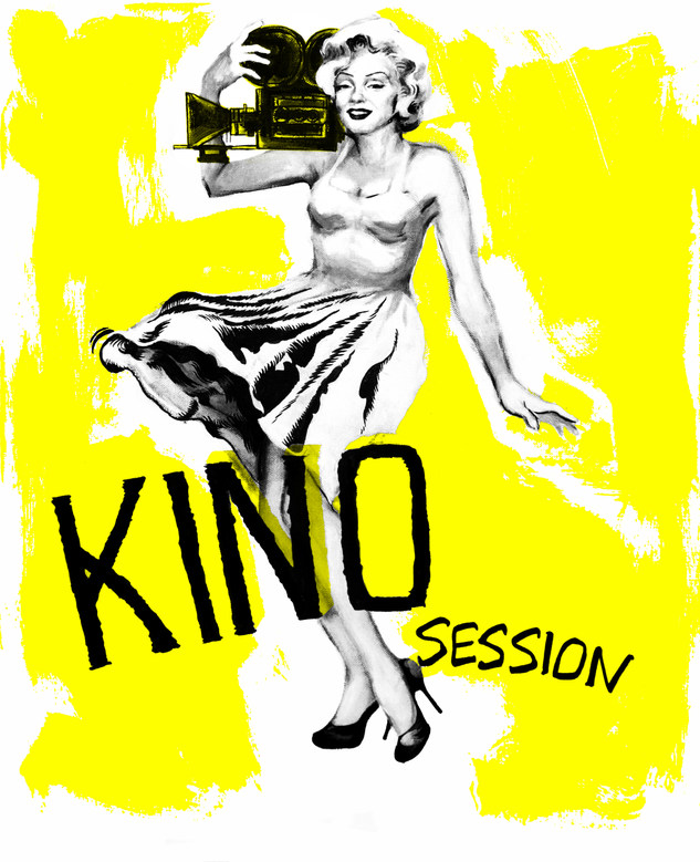 Affiche Marilyn Monroe Kino Session by McFly-illustration