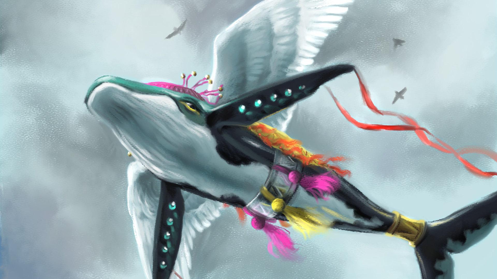 Speed Painting Fanart du Poisson Rêve (Zelda) by McFly-Illustration