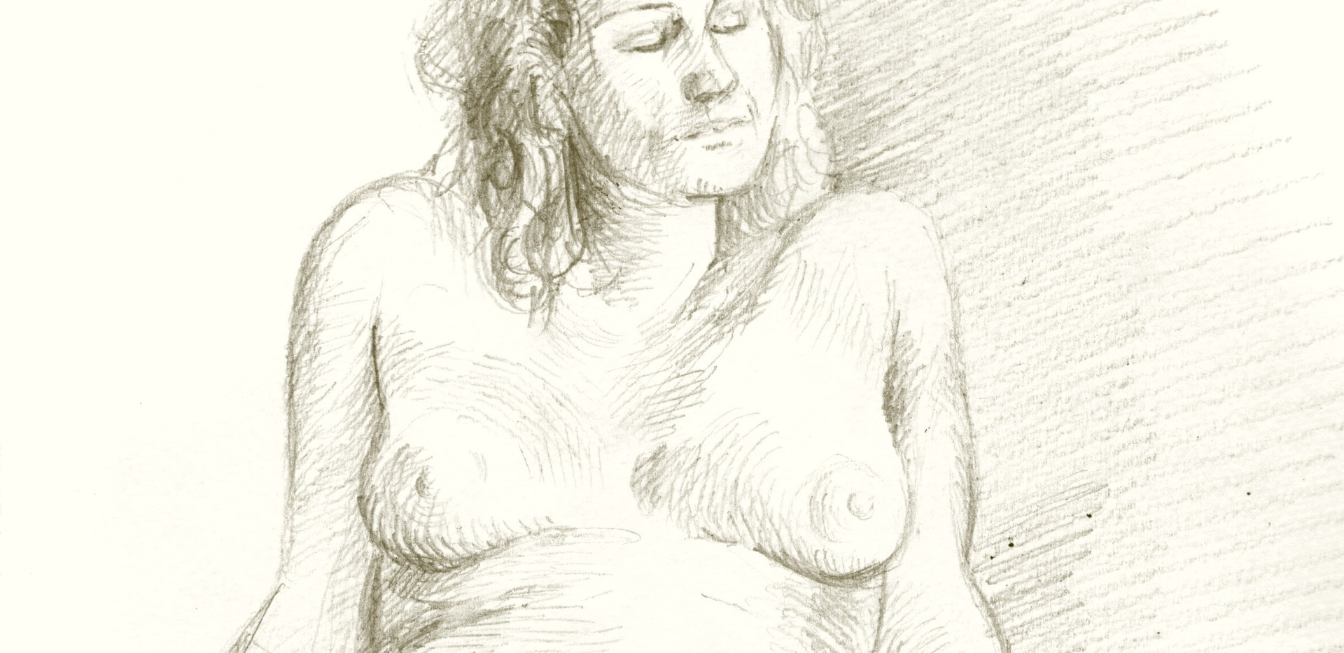 dessin modèle vivant femme by McFly-Illustration