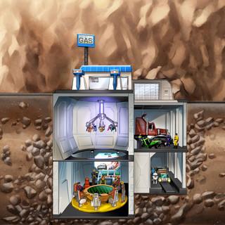 Base souterraine by McFly-Illustration
