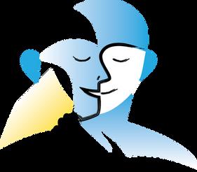 Logo dessin vectoriel visage solidarité by McFly-illustration