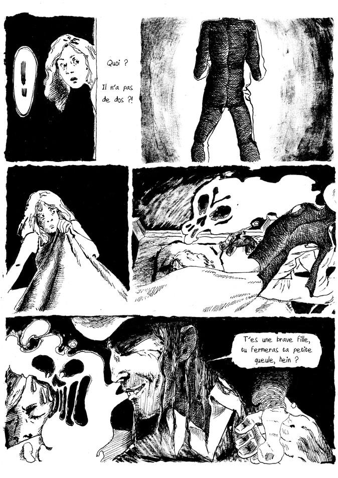 BD horreur cauchemar pour Nuit Noire extrait01 by McFly-Illustration