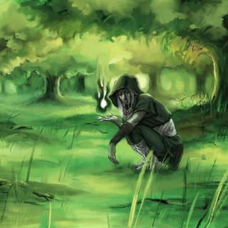 Sorcier Elfe by McFly-Illustration