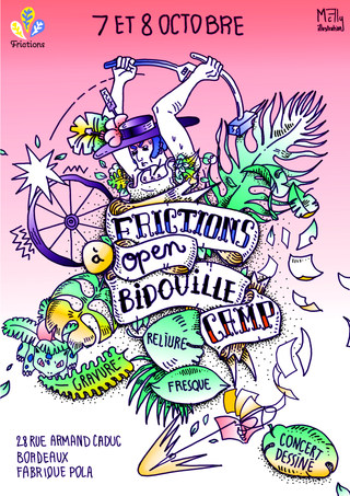 Affiche Open Bidouille Camp by McFly-illustration